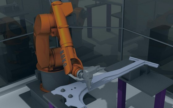 Edge Following with a KUKA robot
