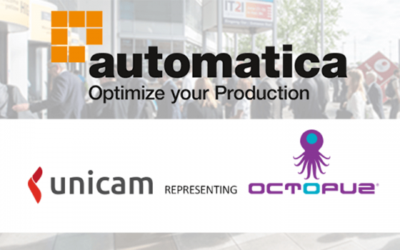 OCTOPUZ presents the latest welding enhancements at AUTOMATICA 2018