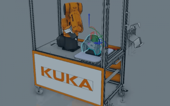 How It's Made: Programming a KUKA to deburr a Hockey Helmet